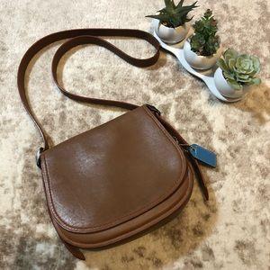 Coach Saddle Hobo Crossbody VTG Leather Bag Purse
